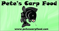 Thank you to Peter  Wilinski of Pete's Carp Food