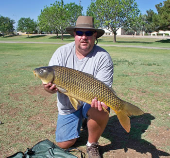 Robert Hogan is the director of the Wild Carp CLub of Arizona