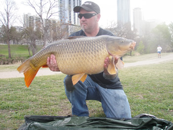 Scott Ferguson with a 31 lb, 12 oz common