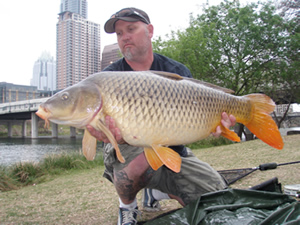 Scott Ferguson with a 34 lb, 8 oz common in Texis