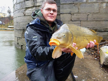 Wild Carp Club of Quebec - Club Director, Justin Tau